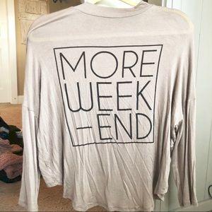 NWOT / BLVD More Weekend Top